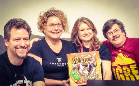 Munchkin Panic Release Party
