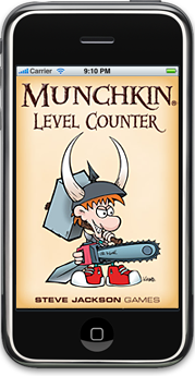 Munchkin Level Counter app