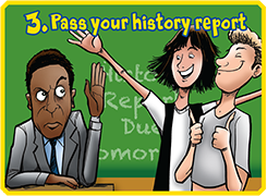 Pass your history report