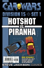 Car Wars Division 15 Set 1 - Hotshot vs. Piranha