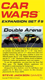 Car Wars Expansion Set 5 - Double Arena
