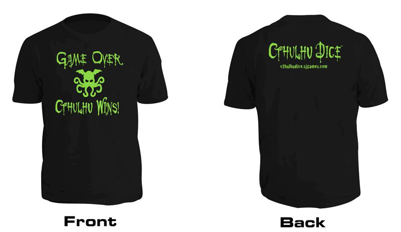 Cthulhu Dice T-Shirts