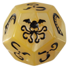 Pearl Ivory Cthulhu Dice