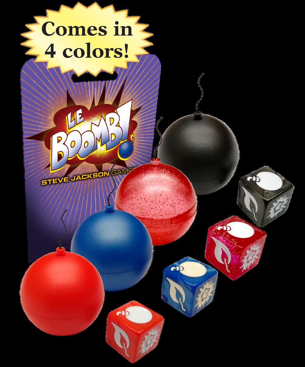Le Boomb! Black Bomb Dice Game