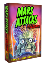 Mars Attacks: The Dice Game cover