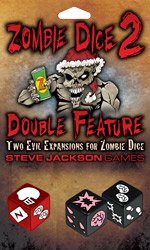 Zombie Dice 2: Double Feature cover