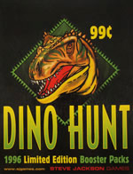 Dino Hunt 1996 Limited Booster Packs (POP)