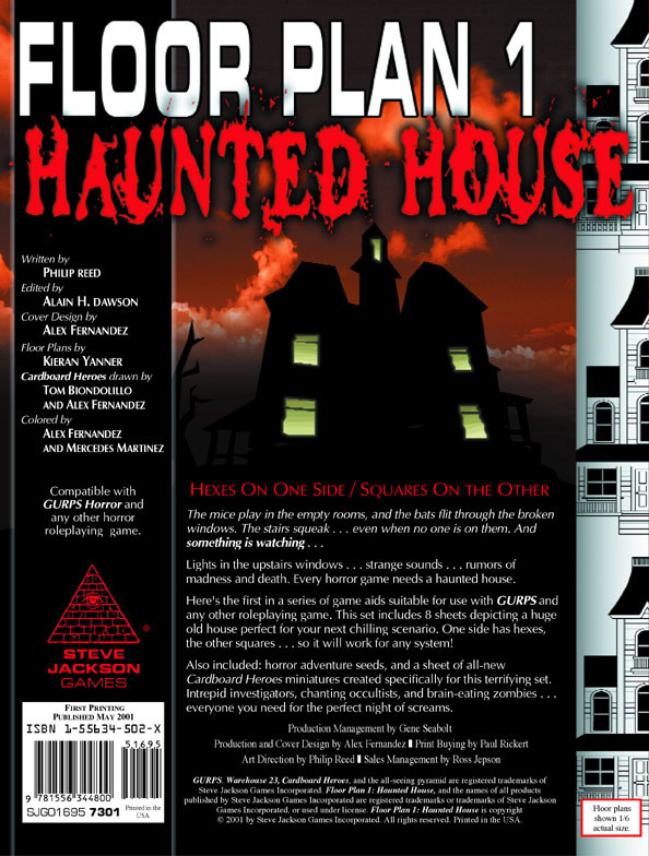 Floor Plan 1 Haunted House