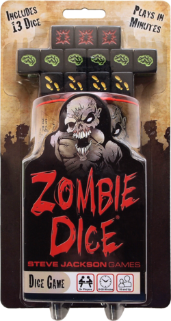 Cover for Zombie Dice