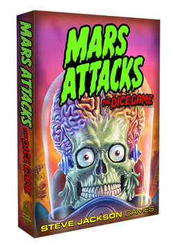 Cover for Mars Attacks: The Dice Game