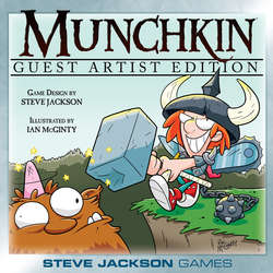 Cover for Munchkin Guest Artist Edition