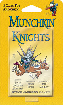 Cover for Munchkin Knights