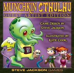 Cover for Munchkin Cthulhu Guest Artist Edition (Katie Cook)