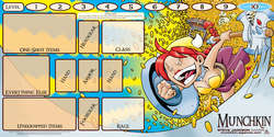 Cover for Munchkin Playmat: Flower Cashes In