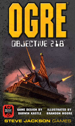 Cover for Ogre: Objective 218