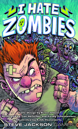 Cover for I Hate Zombies