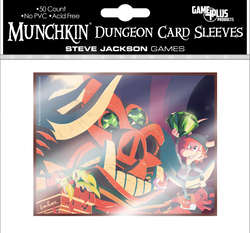 Cover for Munchkin Dungeon Card Sleeves