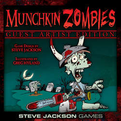 Cover for Munchkin Zombies Guest Artist Edition (Greg Hyland)