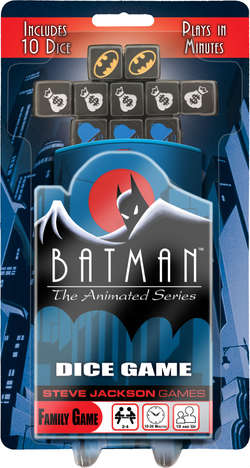Cover for Batman: The Animated Series Dice Game