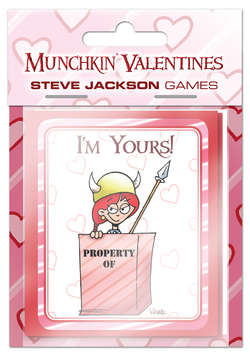 Cover for Munchkin Valentines