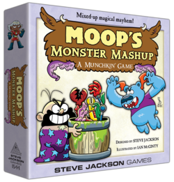 Cover for Moop's Monster Mashup: A Munchkin Game