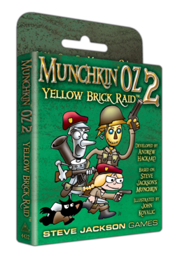 Cover for Munchkin Oz 2 – Yellow Brick Raid