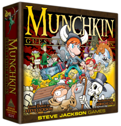 Cover for Munchkin Guest Artist Edition (Huang)