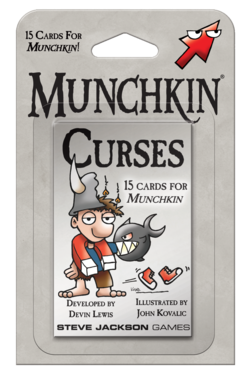 Cover for Munchkin Curses