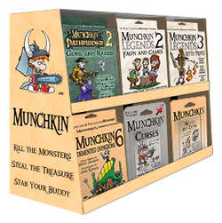 Cover for Munchkin Tuckbox Display Repack