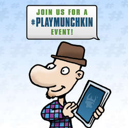 Cover for #PlayMunchkin Social Media Ads
