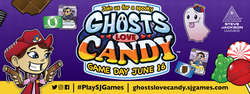 Cover for #PlaySJGames Ghosts Love Candy - Flyer