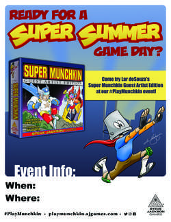Cover for Super Summer Game Day Assets