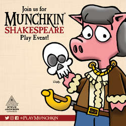 Cover for Munchkin Shakespeare Play Event Assets