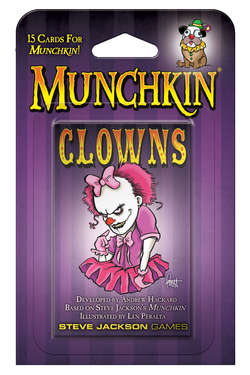 Cover for Munchkin Clowns