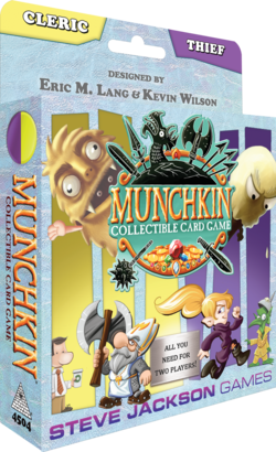 Cover for Munchkin Collectible Card Game Cleric & Thief Starter Set