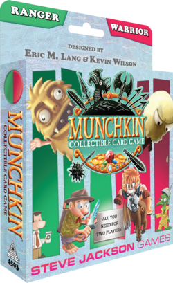 Cover for Munchkin Collectible Card Game Ranger & Warrior Starter Set