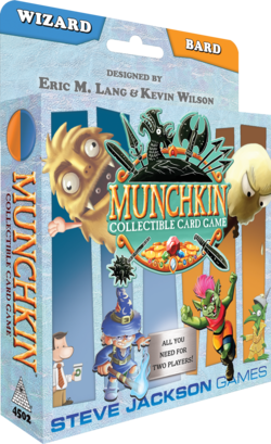 Cover for Munchkin Collectible Card Game Wizard & Bard Starter Set
