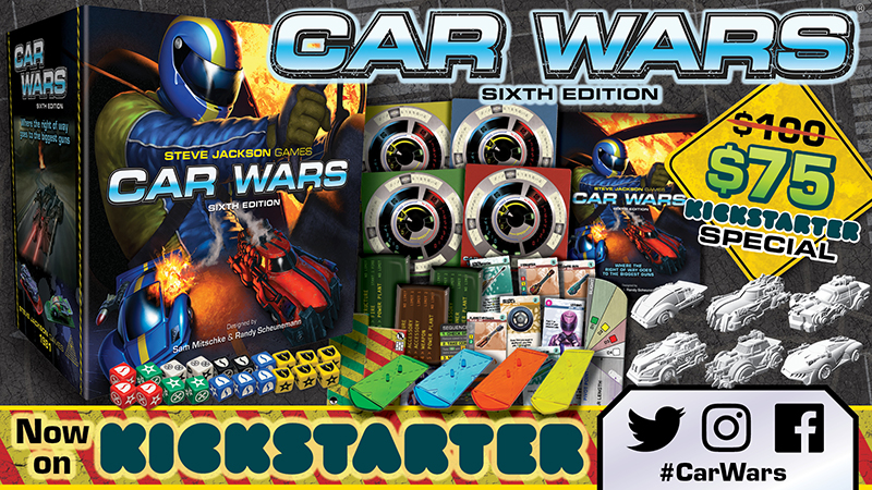 Banner link to Car Wars 6E Components