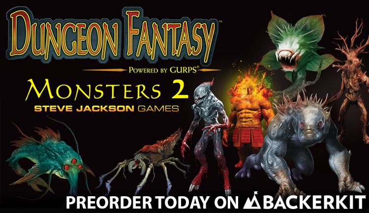 Banner link to Monsters 2 Preorder