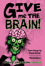 GURPS Low-Tech . . . no, not really. It's actually the cover for Give Me The Brain, but I bet most people don't read these. If you do, I dub thee 'cooler than the guy sitting next to you.' Which I can do, because I'm in Marketing.