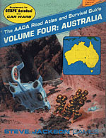 AADA Road Atlas V4: Australia cover