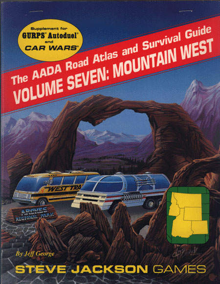 The AADA Road Atlas and Survival Guide, Volume Seven: Mountain West (Front)
