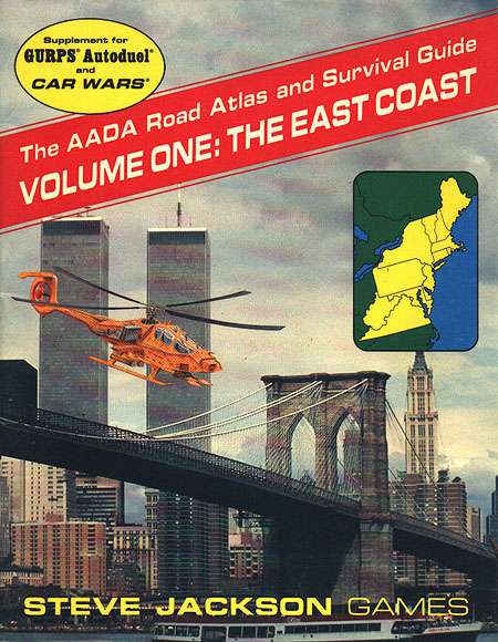 The AADA Road Atlas and Survival Guide, Volume One: The East Coast (Front)