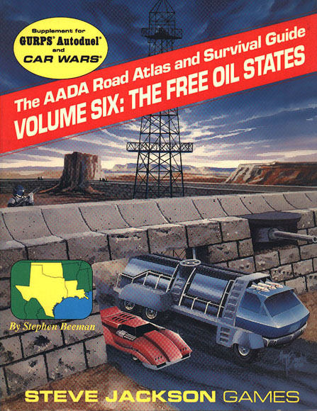 The AADA Road Atlas and Survival Guide, Volume Six: The Free Oil States (Front)