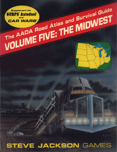 The AADA Road Atlas and Survival Guide, Volume Five: The Midwest (Front)