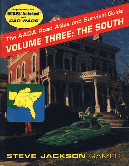 The AADA Road Atlas and Survival Guide, Volume Three: The South (Front)