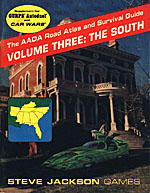 AADA Road Atlas V3: The South cover