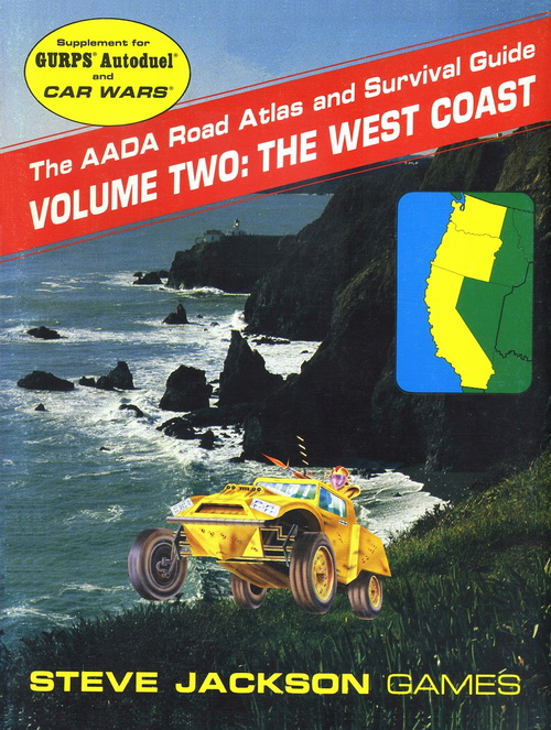 The AADA Road Atlas and Survival Guide, Volume Two: The West Coast (Front)