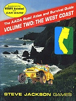AADA Road Atlas V2: The West Coast cover
