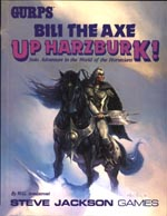 Bili the Axe: Up Harzburk cover